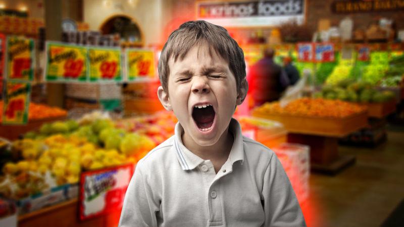 Jak zvládnout malého vzteklouna?